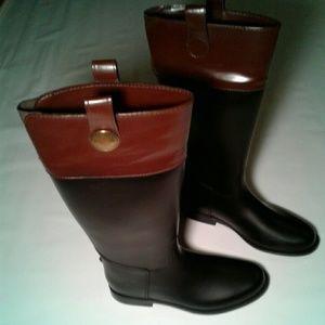 Banana Republic rain boots Size 9